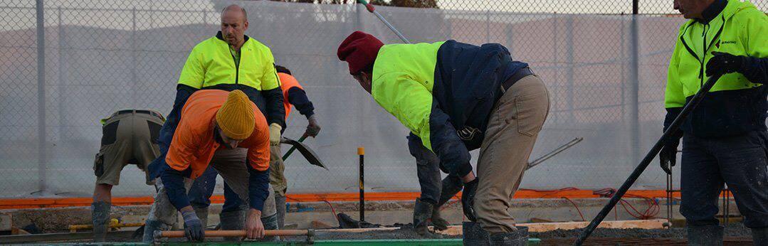 Commercial Concrete Paving 01